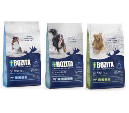 Bozita Grain Free Probierpaket 3 x 1,1kg