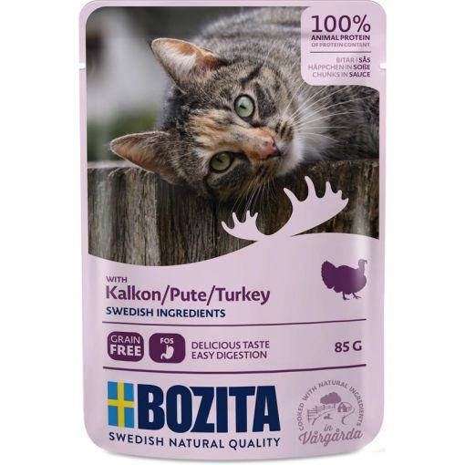 Bozita Pouch Häppchen in Soße mit Pute 85g (Menge: 12 je Bestelleinheit)