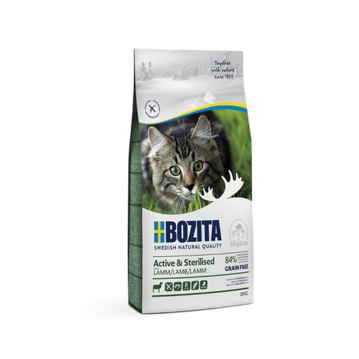 Bozita Active & Sterilised Grain free Lamb 10kg