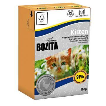Bozita Cat Tetra Recard Kitten 190g (Menge: 16 je Bestelleinheit)