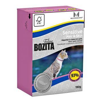 Bozita Cat Tetra Recard Hair & Skin - Sensitive 190g (Menge: 16 je Bestelleinheit)