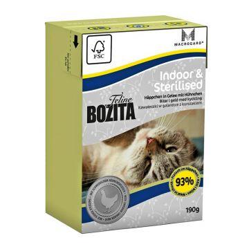 Bozita Cat Tetra Recard Indoor & Sterilised 190g (Menge: 16 je Bestelleinheit)