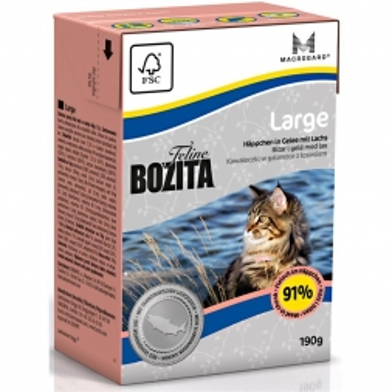 Bozita Cat Tetra Recard Large 190g (Menge: 16 je Bestelleinheit)