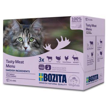 Bozita Multibox Fleisch-Menü 12x85g