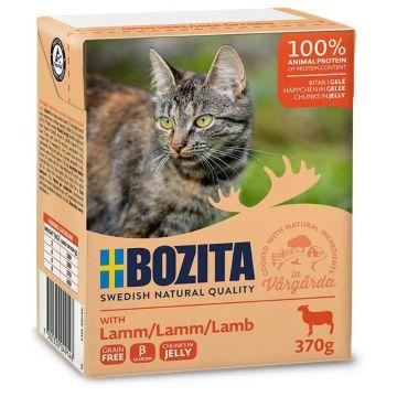 Bozita Cat Tetra Recard Häppchen in Gelee Lamm 370g (Menge: 16 je Bestelleinheit)